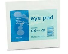 RELIANCE 324 HSE STERILE WOUND DRESSING EYE PAD 7.5 X 5.5CM X10