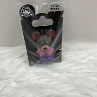 NEW Disney Parks Vinylmation 3D Pin Dormouse Alice In Wonderland Trading Pin