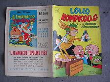 ALBI D'ORO # 371 - 30 DICEMBRE 1952 - LOLLO ROMPICOLLO E LA LOZIONE MIRACOLOSA