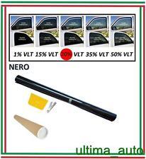 PELLICOLA OSCURANTE PER VETRI AUTO NERO 20% 76cm x 3m / 76cm x 300cm