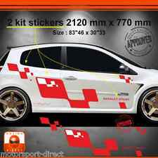 Sticker Renault Clio RS 3 tuning sport aufkleber adesivi pegatina decal 508RB
