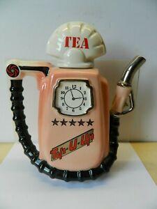 Sunshine Ceramics 1986 Petrol Pump Teapot