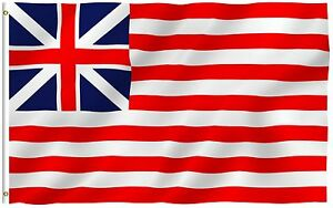 Anley Fly Breeze 3x5 Foot Grand Union Flag Continental Colors Flags Polyester