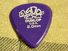 Dunlop USA 2.0mm Purple Guitar Pick