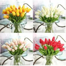 Unbranded Tulip Potted Dried & Artificial Flowers