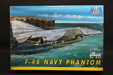 XY171 ITALERI 1/48 maquette avion 828 Navy Phantom F-4S F4S version rare
