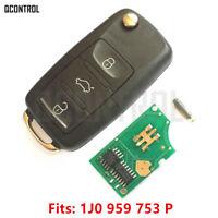 Car Remote Control Key fob for SKODA Octavia Superb Fabia 1J0959753P 433MHz