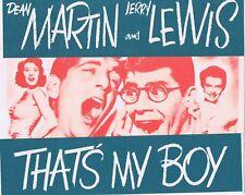 THAT'S MY BOY Vintage ORIGINAL Movie Herald Dean Martin Jerry Lewis