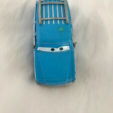 Disney Cars movie Hudson blue car toy