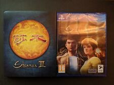 SHENMUE 3 III PS4 Limited Edition KICKSTARTER & SLEEVE Pal Version NEW SEALED