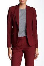 NWT Theory Italian Stretch Wool Gabe N Jacket Blazer, deep cherrywood sz 8, $425