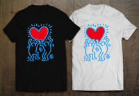 Keith Haring DANCING DOG Pop Men's T-Shirt Size S-2XL