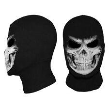 DR7 Ghost Biker Skull Hood Face Mask Motorcycle Ski Balaclava CS Sport Cosplay N