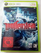 Microsoft XBOX 360 Spiel xbox360 Game WOLFENSTEIN Ego Shooter Action PAL-VERSION