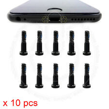 10 X Bottom Screws Pentalobe Black Screw Set for Apple iPhone 6 6s & Plus