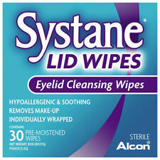 Systane Eyelid Cleansing Wipes - 30 Pack