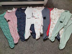 Baby Girl Sleepsuit Bundle 6-9 Months 🎀