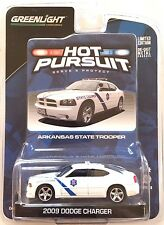 2010 GreenLight 2009 HOT PURSUIT ARKANSAS HIGHWAY PATROL DODGE CHARGER POLICE!