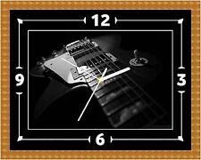 Orologio da parete per chitarra elettrica regalo natale compleanno (può essere personalizzato)