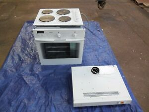 Bosch electric built in single fan oven/grill Magnet electric hob and extractor