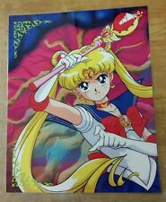 Sailor Moon R poster Usagi and Cutie Moon Rod 11x14 laminated.