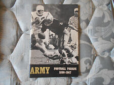 1967 ARMY FOOTBALL MEDIA GUIDE Yearbook Press Book College Program Parade AD