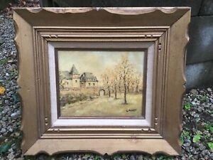 French artist Louis Peyrat 1911-1999 impressionist landscape painting No Reserve