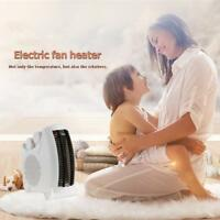 2000W 2KW Home Upright Silent Electric Fan Heater Hot Thermostat with Indicator