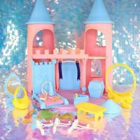Vintage My Little Pony DREAM CASTLE Playset Parts Throne Banners Hat G1 MLP F079