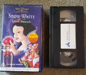 Snow White and the Seven Dwarfs - Walt Disney's Masterpiece Special Edition VHS