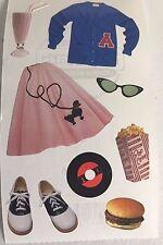 1950's bobby sock /school / People / Scrapbook stickers
