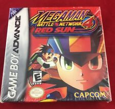 Mega Man Battle Network 4 Red Sun (Nintendo Game Boy Advance, 2004)Factory Seal