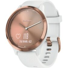 Garmin vivomove HR Sport S/M Blanc-Rosegold Fitness-Tracker Touch-Service