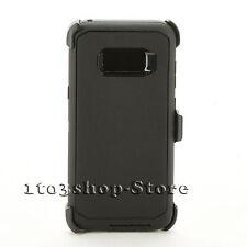 Samsung Galaxy S8+ (Plus) Rugged Defender Hard Case w/Holster Belt Cli