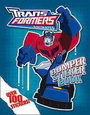 Transformers Animated - Bumper Sticker Book, Gibson, Annabel, Acceptable Book