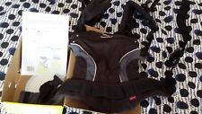 Black manduca baby carrier excellent condition in box/instructions