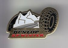 RARE PINS PIN'S .. AUTO CAR PNEU TYRE SP NEIGE SNOW HIVER WINTER DUNLOP ~DC