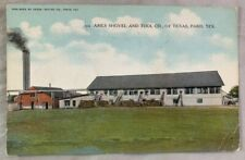 Antique Postcard 1912 Ames Shovel and Tool Company of Paris Texas