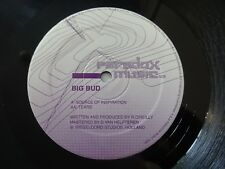 "BIG BUD - Source Of Inspiration / Tears - 12"" Vinyl - Paradox Music - PM 008"