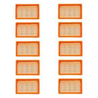 10x Original Flachfilter für KÄRCHER wie 2.863-005.0 MV 4 5 6 P WD4 Premium SET