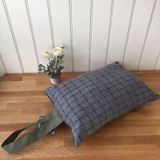 Tweedmill Garden Kneeler Event Cushion Waterproof Backing Tweed Green & Grey