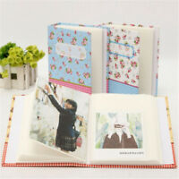 Floral Printed Baby Memory Book Girl Boy Keepsake Record First Album Shower Gift