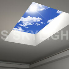 Flat Roof Skylight Rooflight Triple Glazed 600mm X 800mm - all sizes