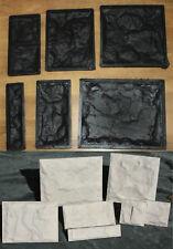 7 Stampi cemento matrice mattoncini Effetto pietra finta pietra rivestimento