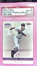 2004 Fleer Derek Jeter National Trading Card Day #1 Gem Mint 10