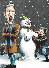 Gay Lesbian LGBT Holiday Cards Lesbian Couple Snowwoman UK Import