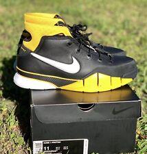 the best attitude 84a2e cb000 Nike Zoom Kobe 1 Protro Black Varsity Maize Yellow Size 11 Fade Prelude IV  Retro
