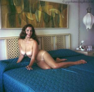 Bunny Yeager 1960s Camera Color Transparency Model Nude Pretty Anita Ventura Fab