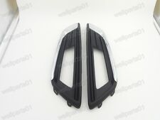 1Pair Skin Line Front Bumper Fog Light Surround Covers for For Ford Focus 2015