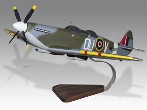 Supermarine Grace Spitfire 2 seater ML 407 RAF Handmade Desktop Airplane Model